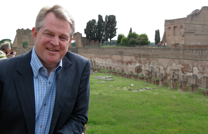 Gordon Robertson at Caesar Augustus' Palace
