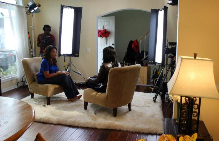 A Voice of Hope Shoot with Pastor Riva Tims