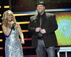 Natalie Grant and Bart Millard