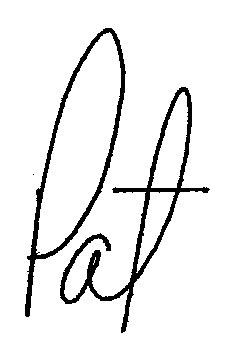 Pat Robertson Signature