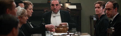 The servants in Downton Abbey