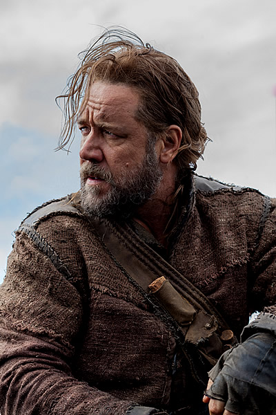 Russell Crowe as Noah. 3737R Photo credit: Niko Tavernise Russell Crowe is Noah in NOAH, from Paramount Pictures.  (c) 2012 Paramount Pictures. All Rights Reserved.