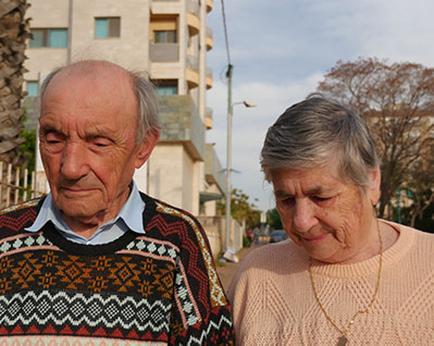 Holocaust Survivors Micahael and Vera Stolyar