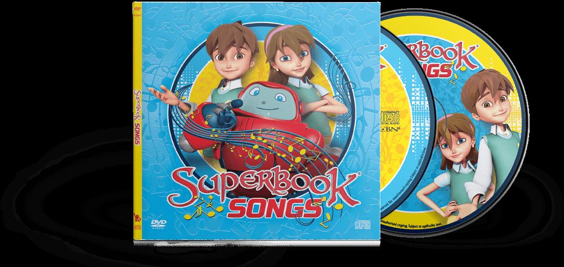 Superbook Songs Dvd And Cd Bundle