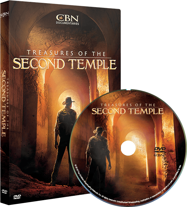 Treasures of the Second Temple DVD -- with your monthly pledge of $25 or more.