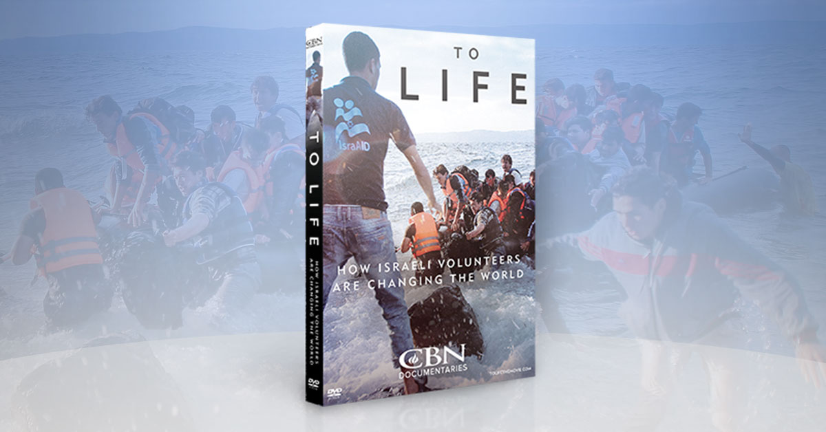 To Life: How Israeli Volunteers Are Changing the World - DVD Offer