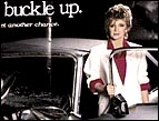 Barbara Mandrell in a car safety ad