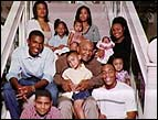 George Foreman and his family