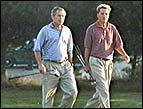 Michael W. Smith with President Bush