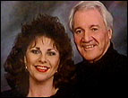 Pat Summerall and his wife, Cherie