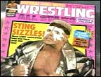 """Sting"" featured in a wrestling magazine"