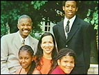 Jacque McDaniel and his family