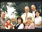 Mark Schultz with his family