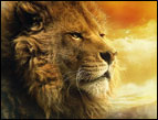 Aslan in 'The Lion, The Witch and The Wardrobe'