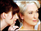 Anne Hathaway and Meryl Streep in 'The Devil Wears Prada'