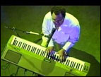 Israel Houghton on the keyboard