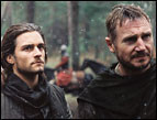 Orlando Bloom and Liam Neeson in 'Kingdom of Heaven'