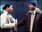 Queen Latifa and LL Cool J in Last Holiday