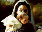 daily Devotion Mary and baby Jesus