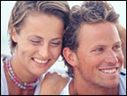 a happy couple