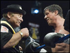 Burt Young and Sylvester Stallone in MGM's 'Rocky Balboa'