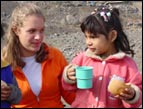 Sondra serves children in Peru