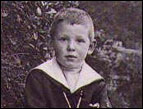 C.S. Lewis as a boy