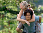 Orlando Bloom and Kirsten Dunst in 'Elizabethtown'