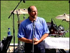 Jon Smoltz at Faith Night
