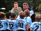Will Ferrell and Mike Ditka in 'Kicking and Screaming'