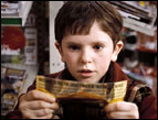 Freddie Highmore as Charlie Bucket in 'Charlie and the Chocolate Factory'