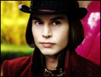 Johnny Depp as Willy Wonka in 'Charlie and the Chocolate Factory'