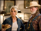 Jessica Simpson and Willie Nelson in 'The Dukes of Hazzard'