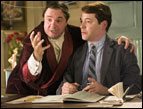 Nathan Lane and Matthew Broderick in 'The Producers'