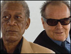Jack Nicholson and Morgan Freeman in 'The Bucket List'