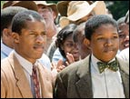 Nate Parker and Denzel Whitaker