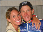 Kristin and Lance Armstrong