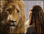 Aslan with Lucy