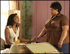 Angela Bassett and Tamela J. Mann in Tyler Perry's 'Meet the Browns'