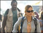 Hilary Swank and Idris Elba in 'The Reaping'