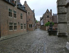 The Beguinage in Leuven, Belgium.