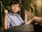 Asa Butterfield as Bruno in 'The Boy in the Striped Pajamas'