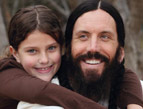 Brian Welch and his daughter Jennea