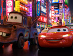 Lightning McQueen and Tow Mater of Cars 2