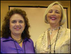 Cheryle Touchton and Gail Golden