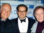Eric Metaxas, Buzz Aldrin and Dick Cavett