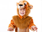 daily Devotion < child in a lion costume