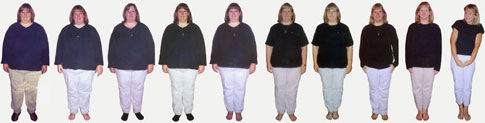 Kim Bensen weight loss progress