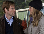 Aaron Eckhart and Jennifer Aniston