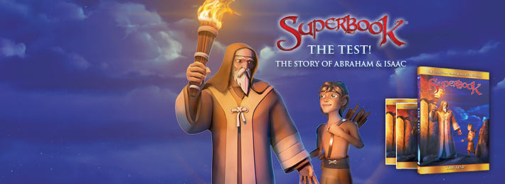 Join The Superbook DVD Club!